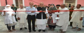 PU VC inaugurates orthopedic clinic